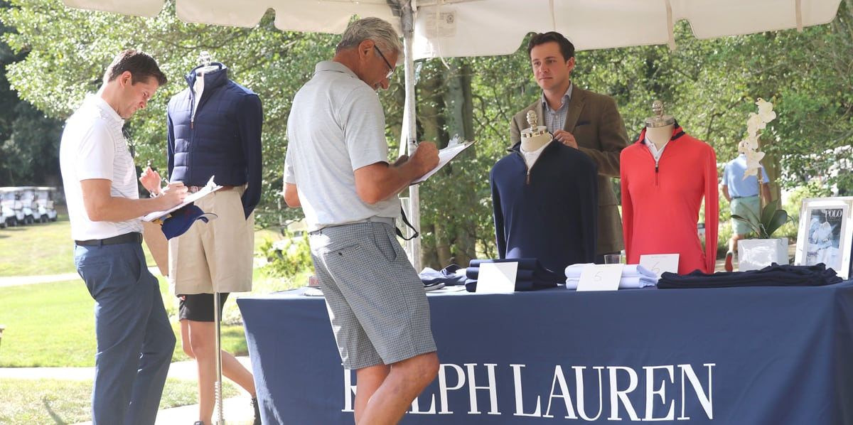 Louis Capano Foundation Charity Event Ralph Lauren Booth 2019